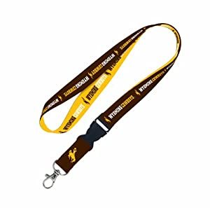 Buy NCAA Wyoming Cowboys Lanyard with detachable buckle by WinCraft