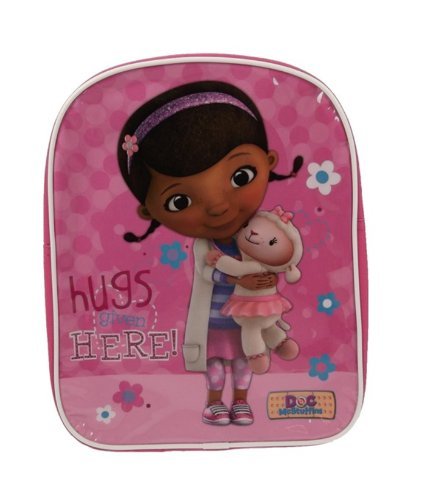 Doc Mcstuffins Backpack School Bag Disney Rucksack Genuine Official Licensed - 1