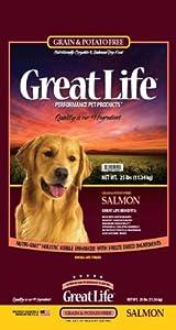 Great Life Grain Free Salmon Dog Food-7LB-