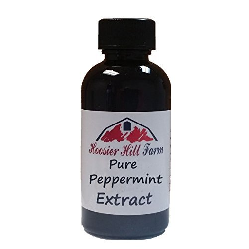 Hoosier Hill Farm Premium Extracts (Pure Peppermint 2 fl. oz.) (Peppermint Extract compare prices)