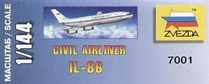 Zvezda - Z7001 - Maquette - Illiouchine Il-86 - Echelle 1:144