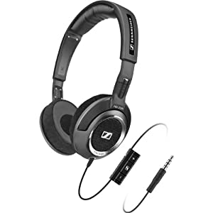 Sennheiser HD 238i Mid-Sized Headset with Detailed Sound Reproduction - Black (Discontinued by Manufacturer)