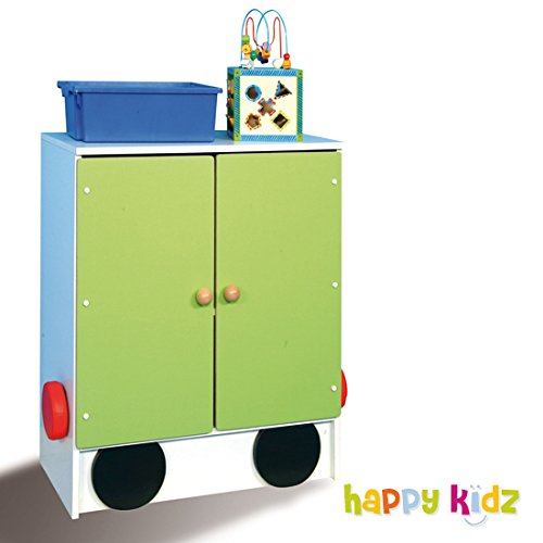 "Kinderschrank ""Happy Train"" Anhänger2"