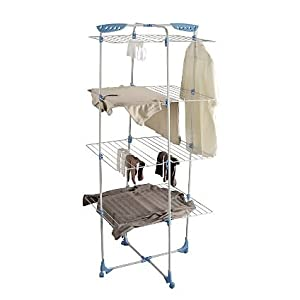 minky tower 40m indoor clothes airer. Black Bedroom Furniture Sets. Home Design Ideas