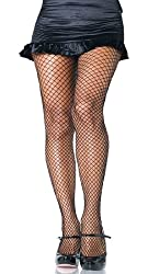Leg Avenue Women's Plus-Size Spandex Industrial Net Pantyhose