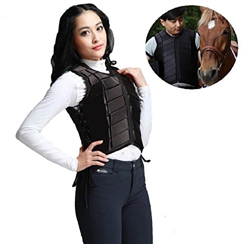 (Cabvassion) safety lightweight for horse riding body protector best said race up (PET bottle key holder set) adult from mens ladies horse riding supplies store 221-12 (adult L) for children