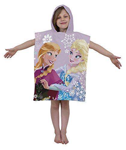 Disney Frozen Crysta Poncho con Cappuccio