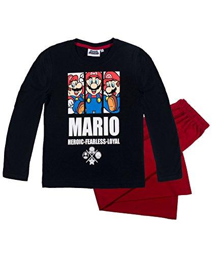 Super Mario Bros Ragazzi Pigiama - bianco - 140