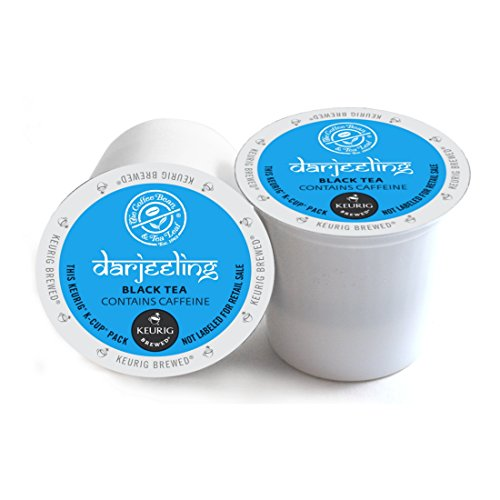 The Coffee Bean And Tea Leaf Darjeeling Black Tea Keurig 2.0 K-Cup Pack, 32 Count