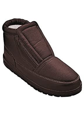 Men's Arctic Shoes, Color BROWN, Size 08