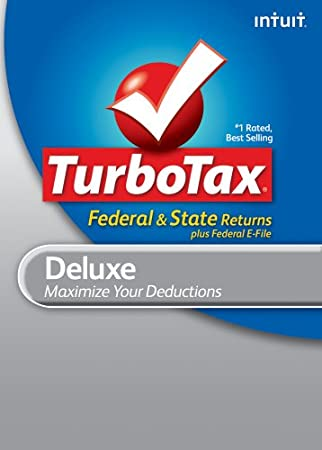 TurboTax Deluxe Federal + e-File + State 2010 for Mac [Download] [OLD VERSION]