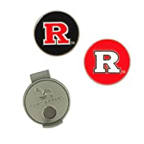 NCAA Rutgers Hat Clip and 2 Golf Ball Markers
