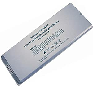 apple 1185 battery white 10.8V 5600mAh