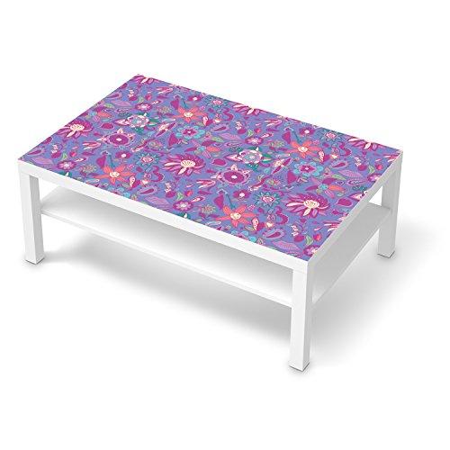 Wohnzimmer Deko Bilder Muster Ornament Purple Flower Pattern Ikea Beispiel
