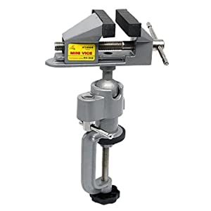 Uxcell a09060300ux0006 Screw Bench Table Clamp Vice for DIY Jewelry