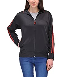 Scott Dryfit jacket wrinkle free Women's (Black with Red Stripes) - XXXLLJKT4xxxl