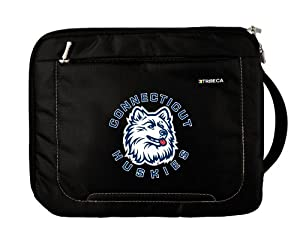 Buy NCAA Connecticut Huskies Deluxe Nylon Sleeve for Apple iPad by Tribeca Gear