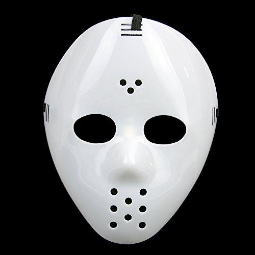 UNIHA Cosplay Jason vs. Freddy Vintage Hockey Style Halloween Mask With Straps 0