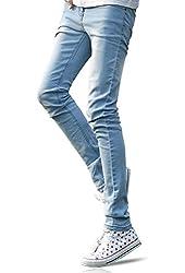 Demon&Hunter YOUTH Series Men's Skinny Slim Jeans DH8008