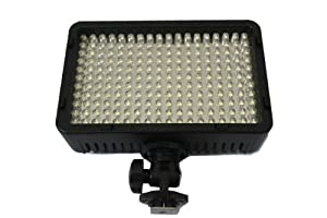 DidoMall 198a Camera Camcorder LED Video Light Lamp for Canon Nikon