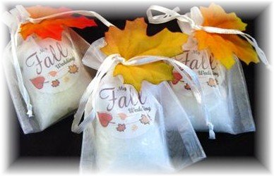 25 Pumpkin Spice Fall Bath Salt Wedding Favors By Simply Botanical