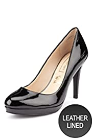 Autograph Leather Platform Court Shoes with Insolia®