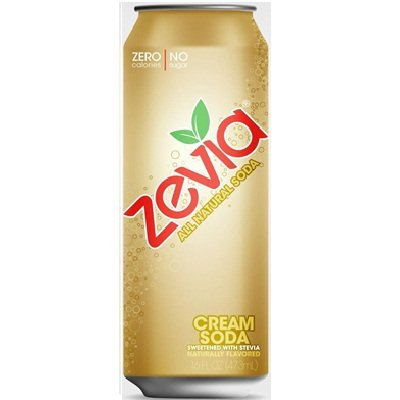 Zevia All Natural Cream Soda, 16 Ounce -- 12 per case. (Zevia Cream Soda compare prices)
