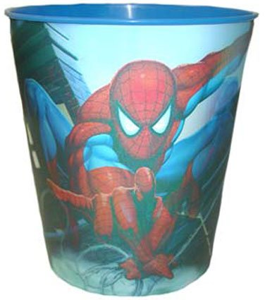 Spiderman- Lenticular Wastebasket
