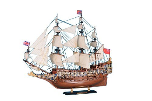 Sovereign Of The Seas Limited 21  Wood Model Boat  Decorative Tall Ship Model by Handcrafted Model Ships Picture