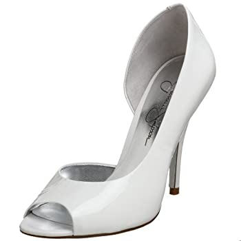 Jessica Simpson Women's Neona Peep Toe Pump