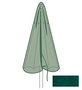 Outdoor Furniture All-weather Cover For Umbrella In Green from Plow & Hearth®