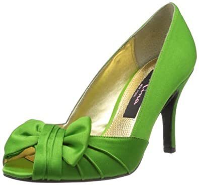 Nina Women's Forbes Apple Green 5 M US