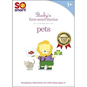So Smart! First Word Stories: Pets