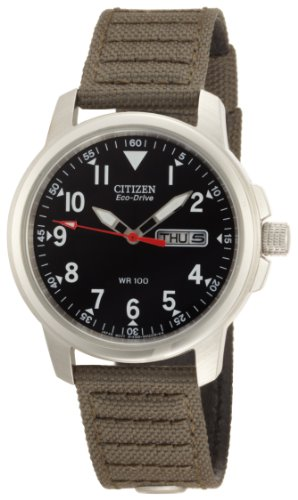 Citizen Men's BM8180-03E Eco-Drive Canvas Strap