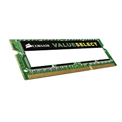 Corsair Value Select 8GB DDR3 SODIMM Memory (CMSO8GX3M1A1600C11)