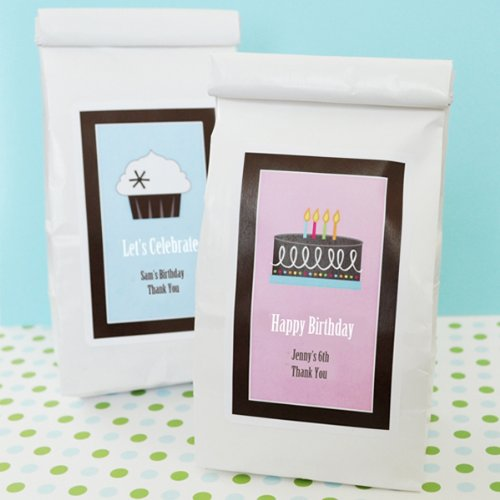 96Pc Eb2039Y Personalized Birthday Muffin Mix Wedding Baby Shower Favors & Acces