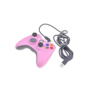 BestDealUSA Wired USB Game Pad Controller For MICROSOFT Xbox 360 Slim PC Windows 7