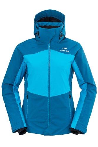 EIDER Damen Snowboardjacke Cosmic Jacket, storm blue/hawaian blue, 38, EIV2372