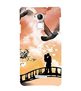 Vizagbeats Couple in Romance Back Case Cover for Coolpad Note 3 Lite