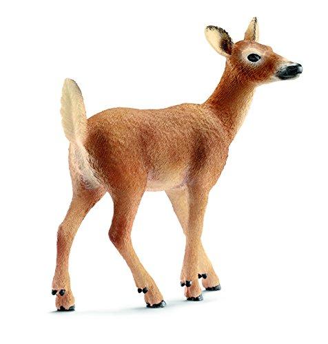 schleich-white-tailed-doe-toy-figure