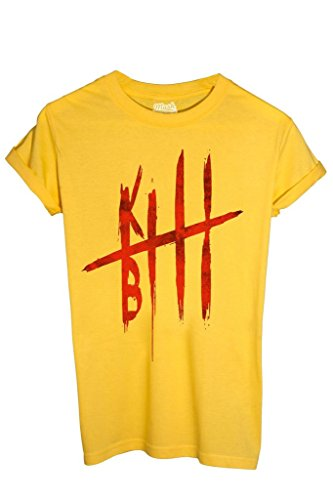 T-Shirt KILL BILL BLOOD - FILM by MUSH Dress Your Style - Uomo-M-GIALLA