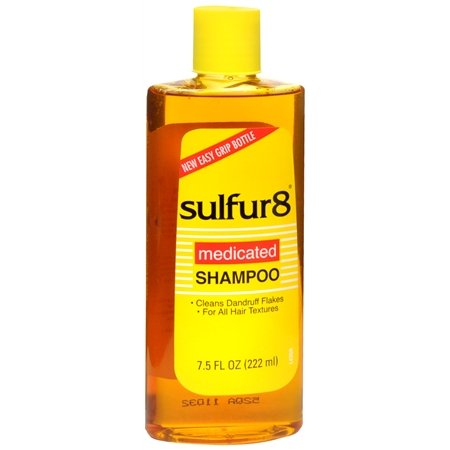 Sulfur 8 Medicated Shampoo for Dandruff, 7.5 Ounce