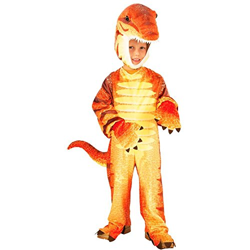Raptor Dinosaur Plush Toddler Costume - Toddler