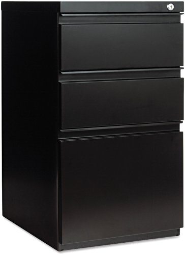 Alera PB532819BL Three-Drawer Mobile Ped File