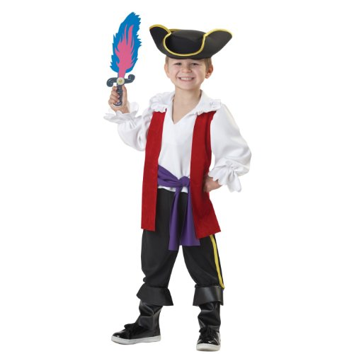 Child's The Wiggles Captain Feathersword Size 4-6