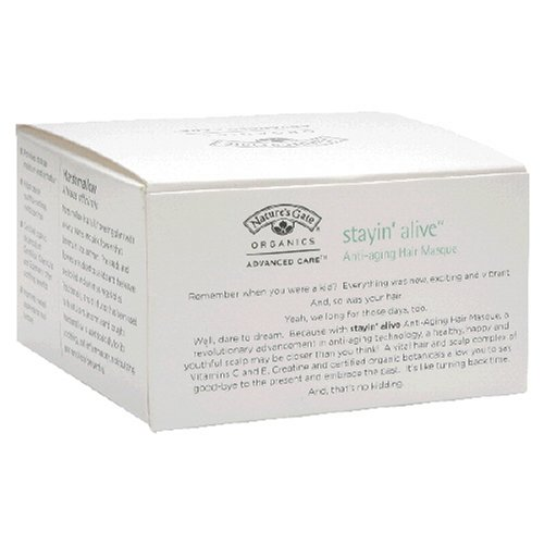 Buy Nature's Gate Organics Anti-Aging Hair Masque, Stayin' Alive, 4 oz (113 g) (Pack of 2) (Nature's Gate Hair Conditioners, Conditioners)