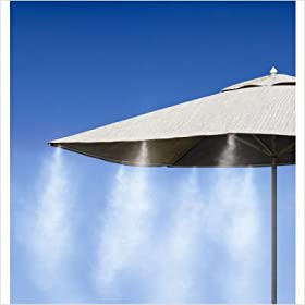 Mistymate Inc 16 Nozzle Cool Patio Mist Cooling System - 30 ft.