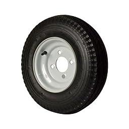 4-Hole High Speed Standard Rim Design Trailer Tire Assembly - 480-8