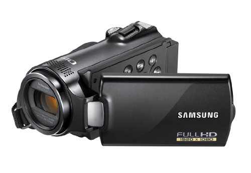 Samsung H200 Full HD Camcorder - Black (2.7 inch LCD, 20x Optical Zoom)