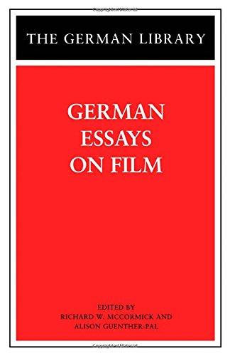 German Essays on Film (German Library)